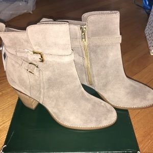 Ralph Lauren suede boots NEW with tags size 9